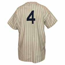 Lou Gehrig's uniform