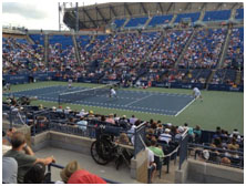 US Open Tennis Tournament