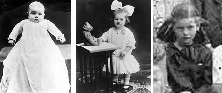 Lucille Ball baby photos