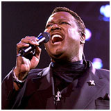 Luther Vandross performing