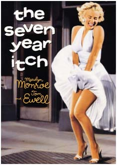 Marilyn Monroe in Seven Year Itch