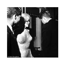 Marilyn Monroe and John F. Kemmedy