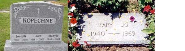 Mary Jo Kopechne burial site