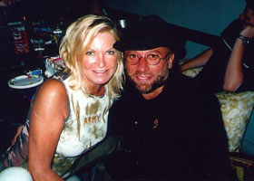 Maurice Gibb and Yvonne Spenceley