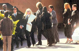 Maurice Gibb funeral
