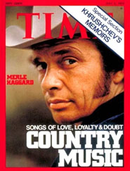 Merle Haggard on cover of Time Magazine