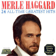 Merle Haggard greatest hits album cover