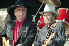Merle Haggard with Buck Owens