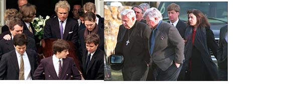 Michael Kennedy's funeral