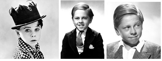 Mickey Rooney, age 10