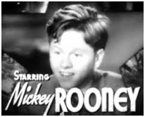 Mickey Rooney in Our gang comedies