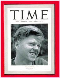 Mickey Rooney on cover of Time Magazine