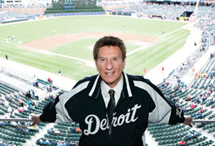 Mike Ilitch after purchasing the Detroit Tigers