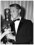 Mike Nichols accepting Academy Award for Best Director