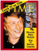 Mike Nichols on the cover of Time Magazine