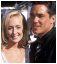 Mindy McCready with Dean Cain