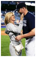 Mindy McCready with Roger Clemens