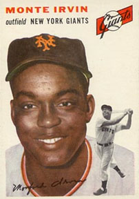 Monte Irvin on the New York Giants