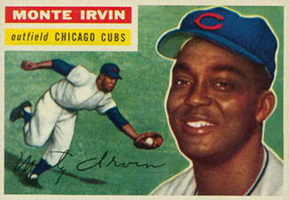 Monte Irvin on the Chicago Cubs