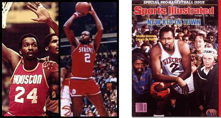 Moses Malone on cover of Sports Illustrated