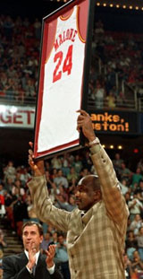 Moses Malone retired number