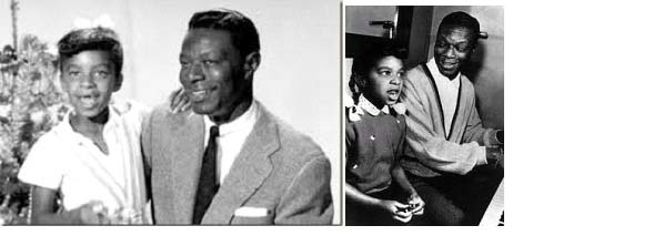 Nat King Cole with daughter, Natalie