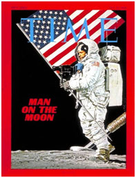 Neil Armstrong on the cover of Time Magazine