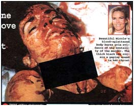 Nicole Brown Simpson Dead Photo