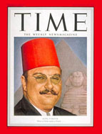 Egypt's King Farouk