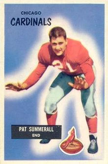 Pat Summerall, Chicago Cardinals
