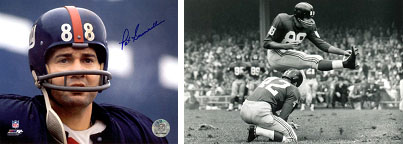 Pat Summerall, New York Giants