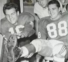 Pat Summerall with Frank Gifford