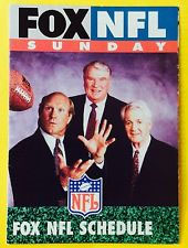 Pat Summerall and John Madden with fox sports