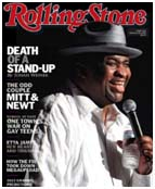 Patrice O'Neal on the cover of rolling stone