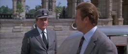 patrick Macnee in A View To A Kill