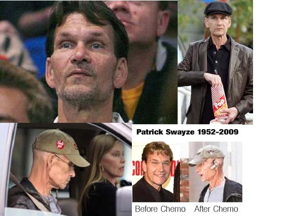 Patrick Swayze with cancer