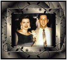 Patsy Cline with husband, Gerald Cline