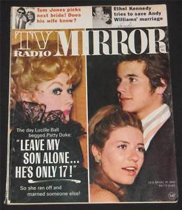 Patty Duke on cover of a tabloid