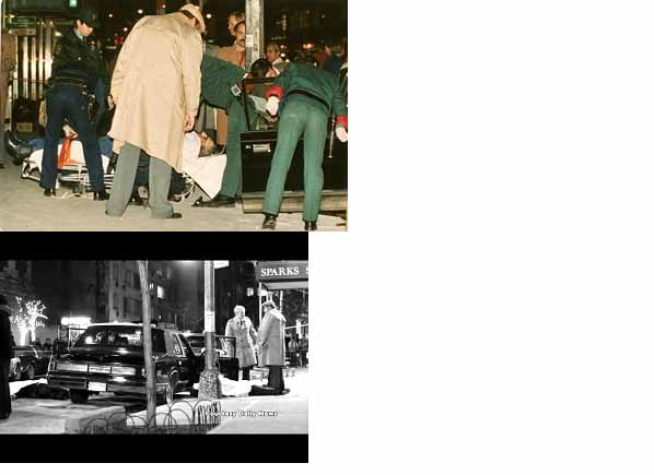 Paul Castellano dead in front of Sparks Steakhouse