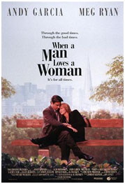 When A Man Loves A Woman movie poster