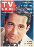 Perry Como on cover of TV Guide