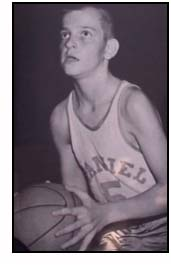 Pete Maravich playing high school basketball