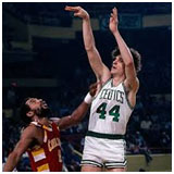 Pete Maravich playing for the Celtics