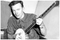 Pete Seeger,  1940's