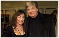 Phil Everly with his wife, Patti