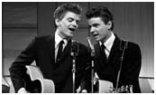 The Everly Brothers when they first became a duo