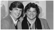 The Everly brothers in 1983