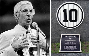 Phil Rizzuto retired number