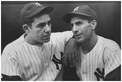 Phil Rizzuto and Yogi Berra