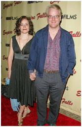 Phillip Seymour Hoffman with Mimi O'Donnell